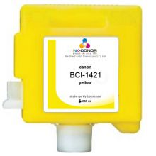 Картридж INK-DONOR  BCI-1421 Yellow Pigment 330 мл для Canon imagePROGRAF W8200/W8400Pg