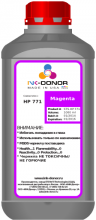 Пигментные чернила INK-DONOR  771 Magenta (CEO39A) для HP DesignJet Series, 1000 мл
